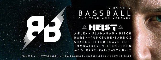 Bassball ⁄ One Year Anniversary ⁄ 19.05.2017 ⁄ Drum & Bass