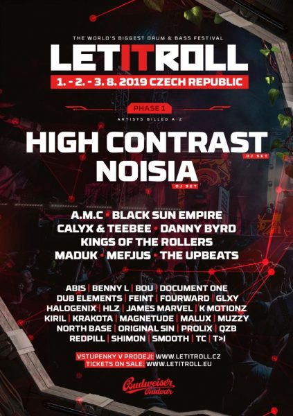 Let It Roll 2019 Phase 1
