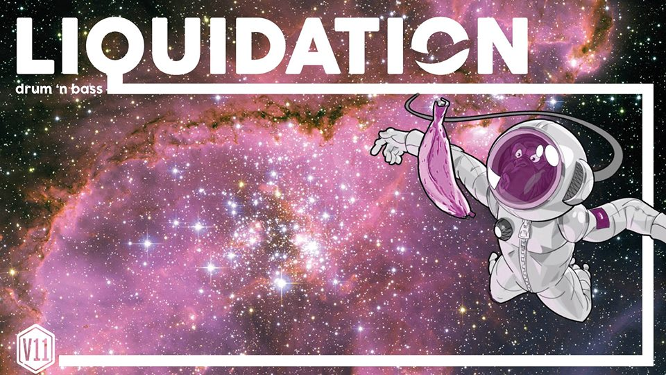 Liquidation: drum 'n bass on a (space)ship | Free entrance