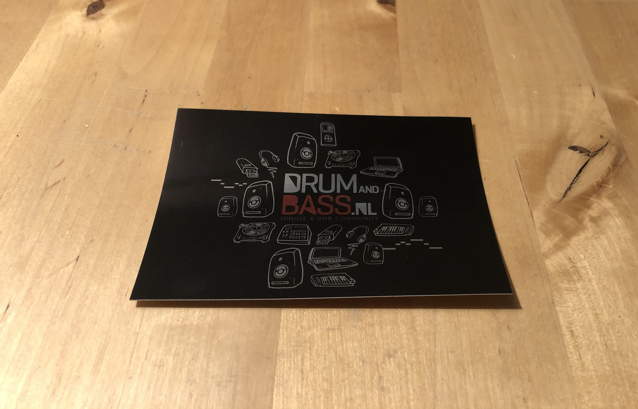 DrumandBass.nl Stickers