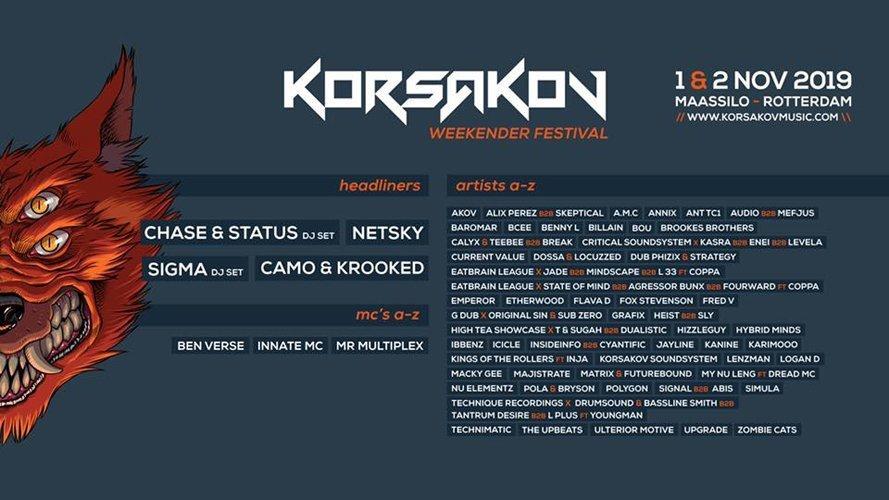 Korsakov - Weekender Indoor Festival
