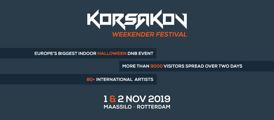 Korsakov - Weekender Indoor Festival - DrumandBass nl