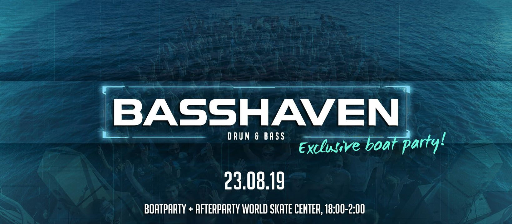 Basshaven#08 - Boat Party + Afterparty!