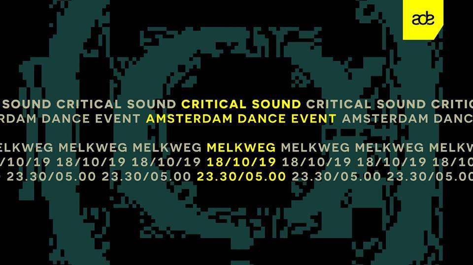 Critical Sound: Circuits, Signal, Foreign Concept ao (ADE 2019)