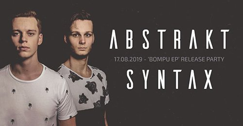Abstrakt Syntax EP Release Party