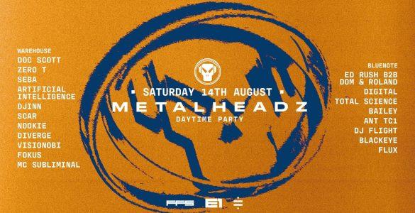 Rescheduled: Metalheadz - Daytime Party